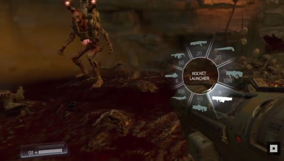 Doom 4 Release Date and Hardcore Gameplay Footage