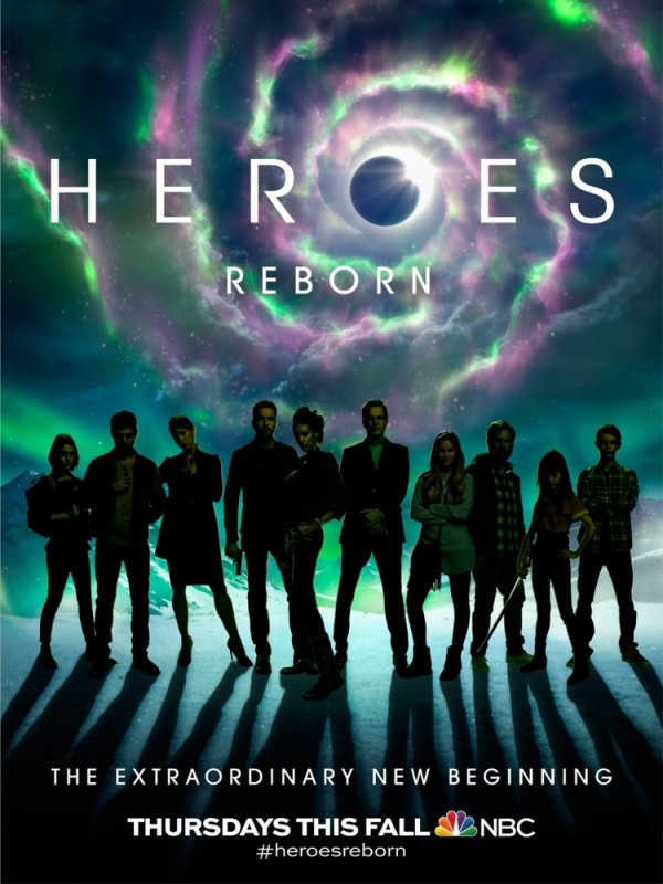 Tense First Teaser Trailer for Heroes REborn
