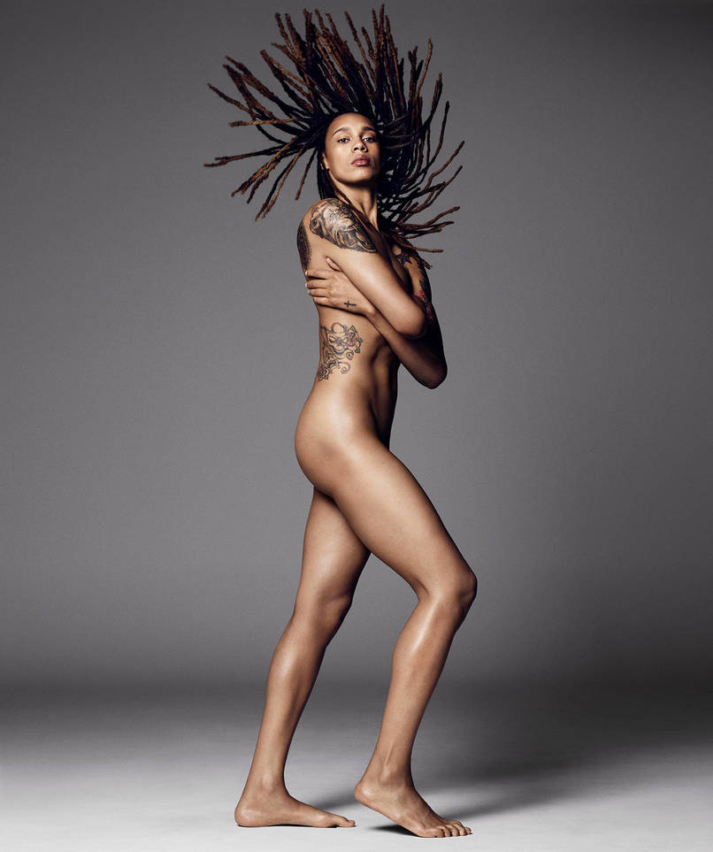 ESPN 2015 Body Issue - Brittney Griner