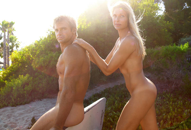 ESPN Body Issue 2015 - Gabrielle Reece and Laird Hamilton