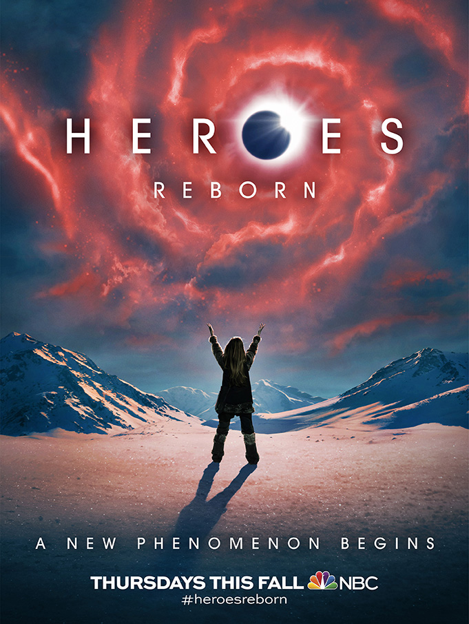 Comic Con 2015 – Heroes Reborn Trailer and Cool Animated Posters