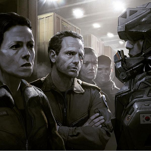 Neill Blomkamp Shared 'Alien' Concept Art For Upcoming Sequel