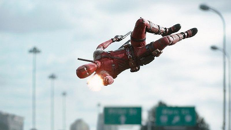 More 'Deadpool' movie pics!