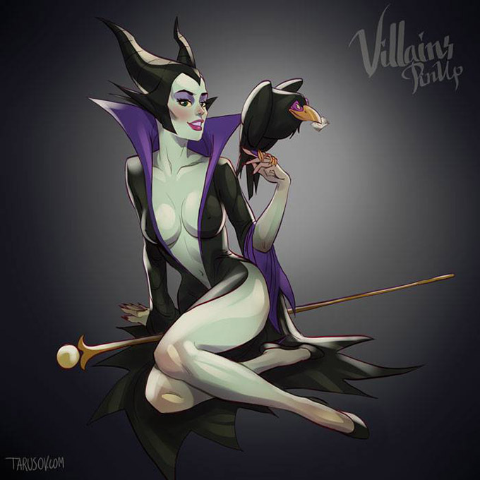 Disney Villains Pin Up Posters 3