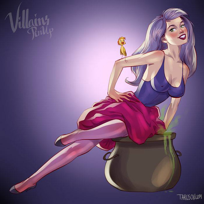 Disney Villains Pin Up Posters 5