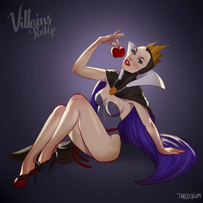 Disney Villains Pin Up Posters 6