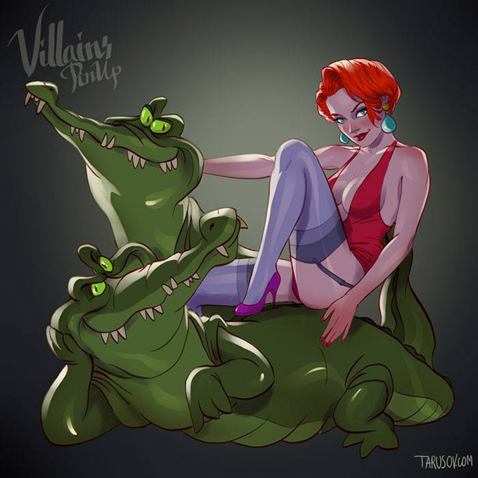 Disney Villains Pin Up Posters 8