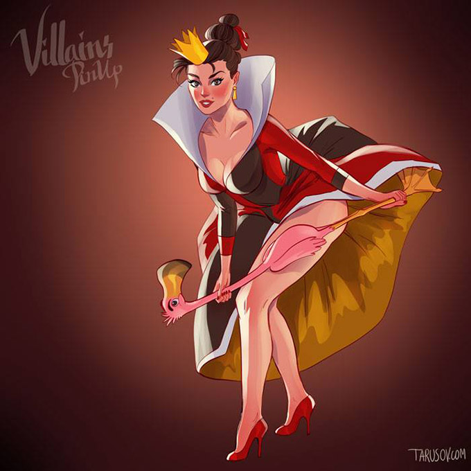 Disney Villains Pin Up Posters 9