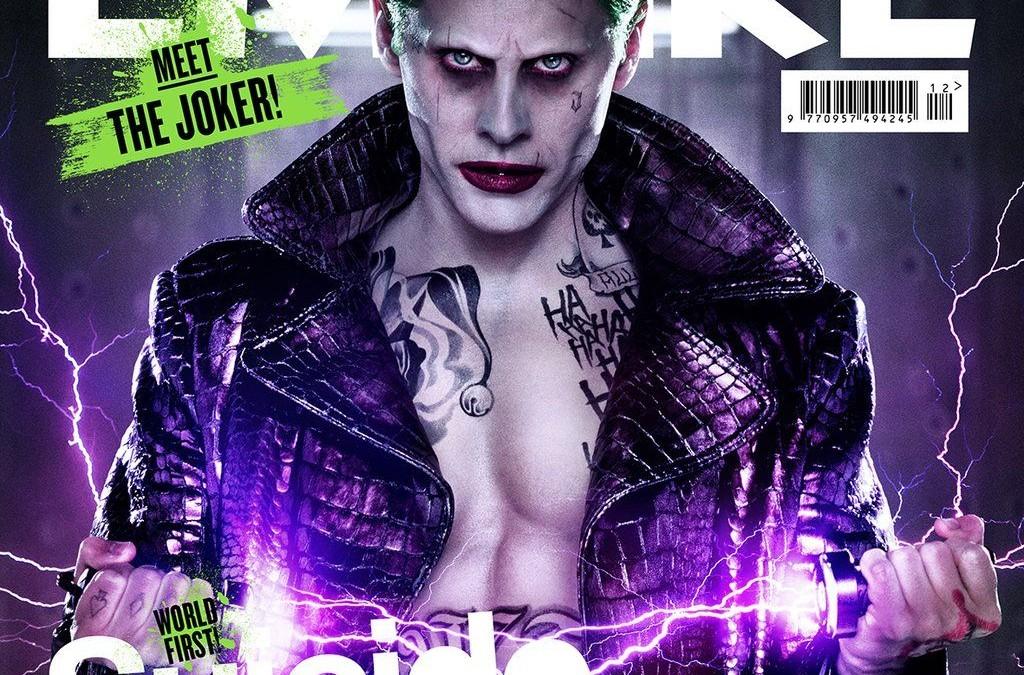 Full View Jared Leto As Joker On Cover Of Empire Magazine