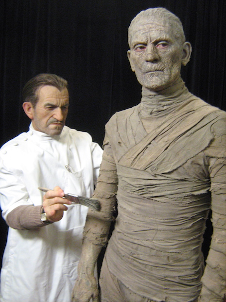Mike Hill Life Size Sculptures Mummy