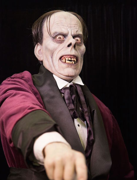 Mike Hill Life Size Sculptures Phantom of the Opera