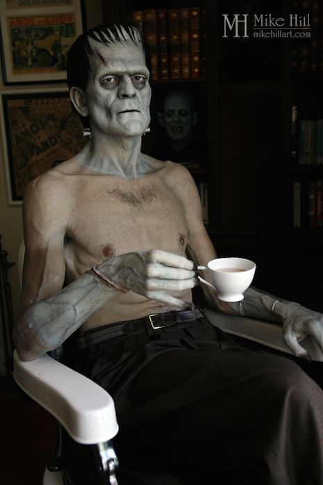 Mike Hill Life Size Sculptures frankenstein 2