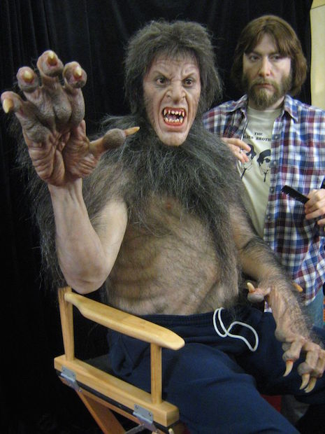 Mike Hill Life Size Sculptures werewolf