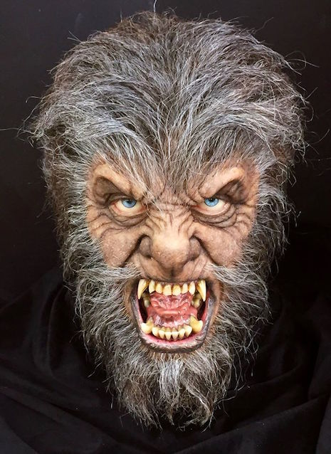 Mike Hill Life Size Sculptures wolfman 3