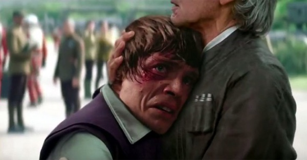 Luke Skywalker Spotted In The New Star Wars Force Awakens Trailer
