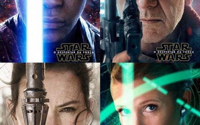 Official Character Posters Released for Star Wars Force Awakens