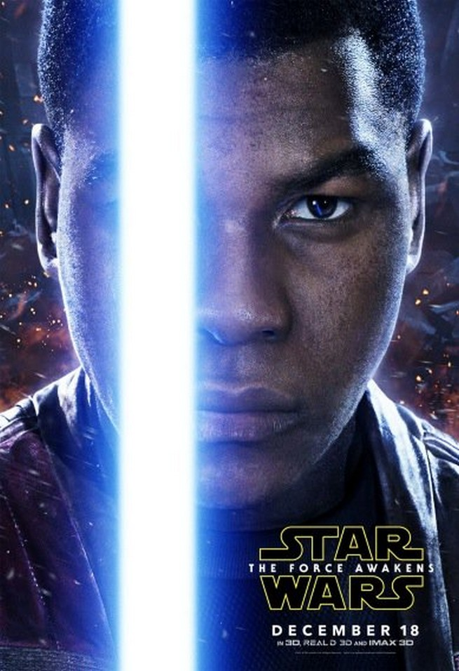Fin character posters Sta Wars force awakens HD