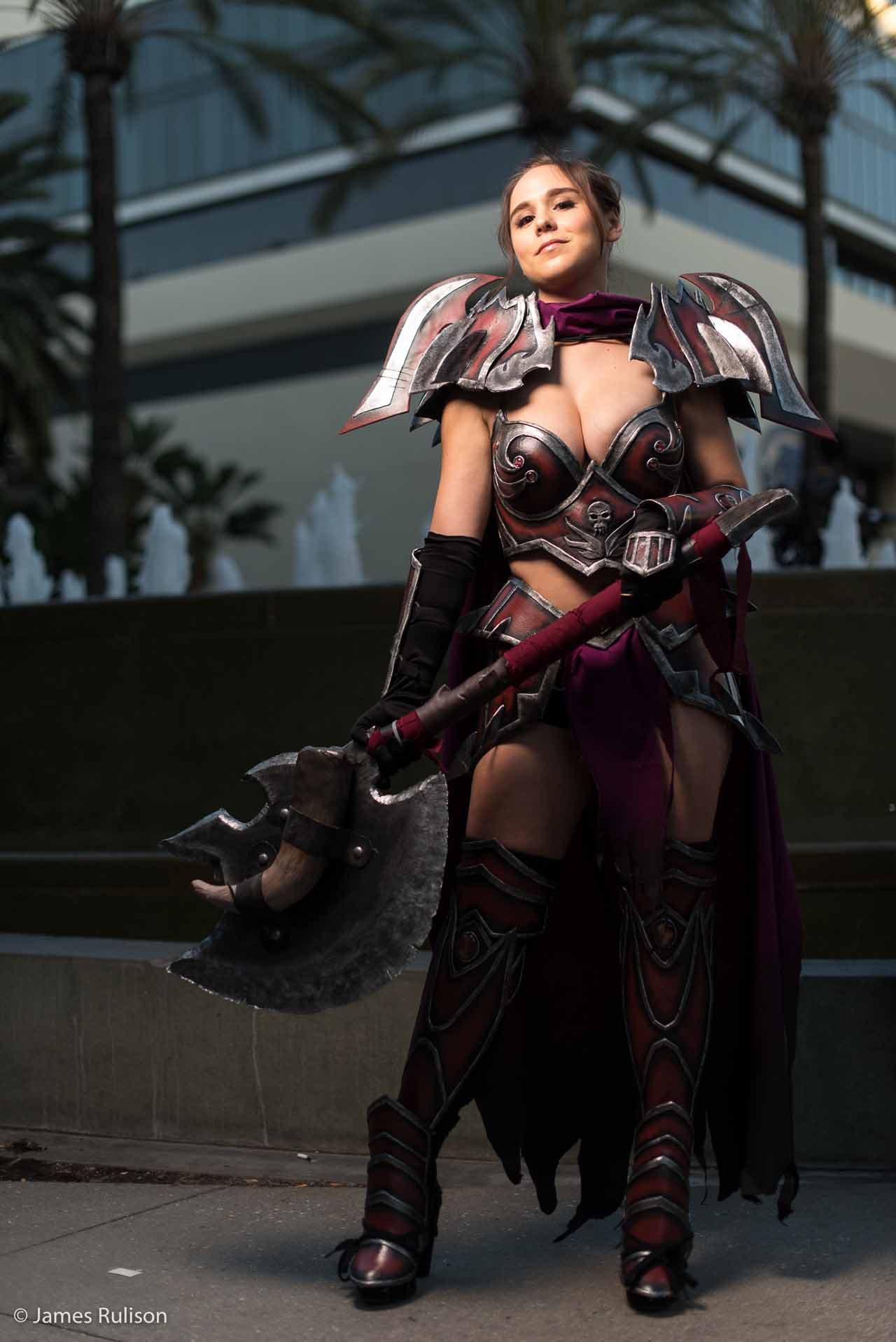Sexy Top Cosplay Blizzcon 2015 5