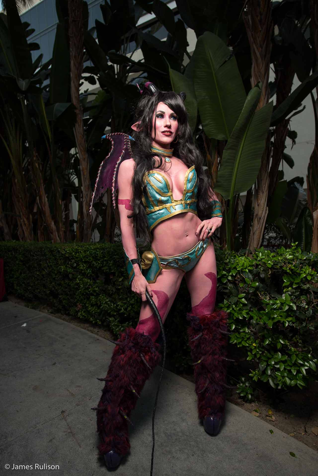 Sexy Top Cosplay Blizzcon 2015 6