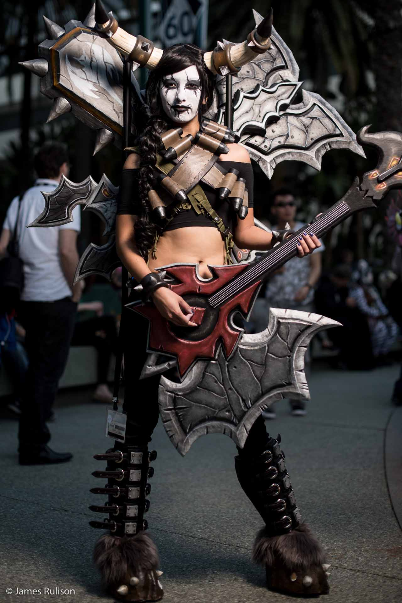 Sexy Top Cosplay Blizzcon 2015 8