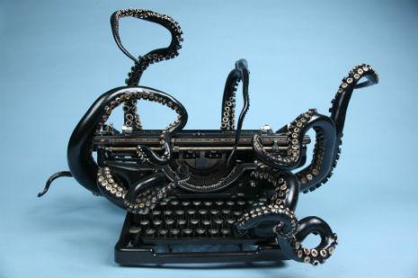 octopus typewriter 1