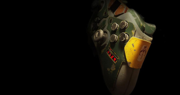 Must Have Boba Fett Themed Xbox Controller