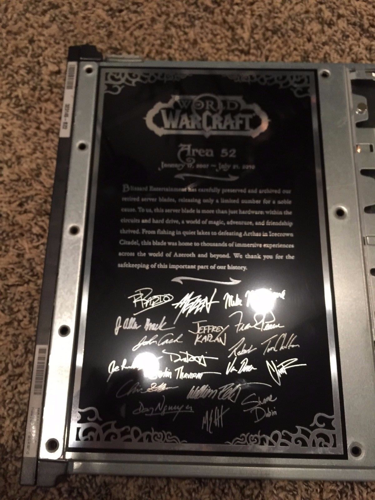 10 Most Expensive Physical Warcraft Collectibles 5