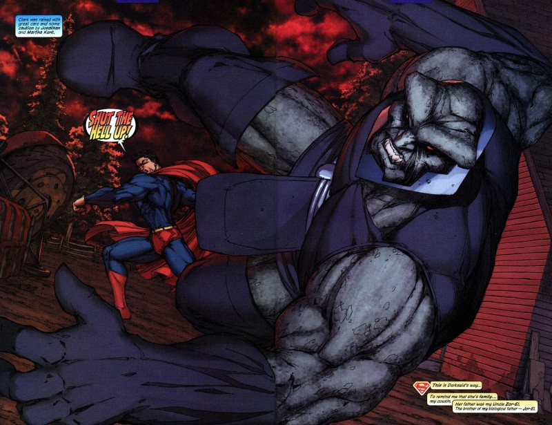 Who is darkseid 8
