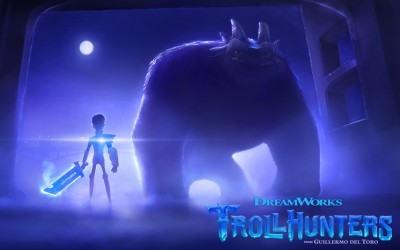 First look at Guillermo del Toro's upcoming animated Netflix series Trollhunters