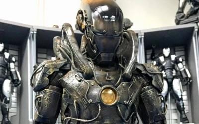 Spectacular Iron Man Alien Hybrid Suit by Samkwok Workshop
