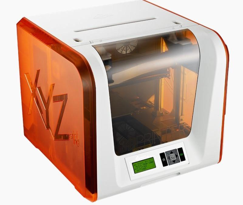 The XYZ Da Vinci Junior PLA 3D printer is a GeekShizzle Must Have