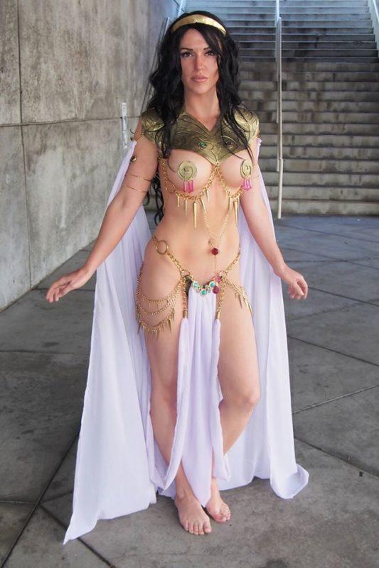 Jackie Goehner Cosplay Sexy 2016 Princess of Mars 4 Dejah Thoris