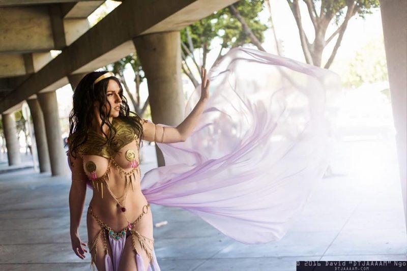 Jackie Goehner Cosplay Sexy 2016 Princess of Mars Dejah Thoris