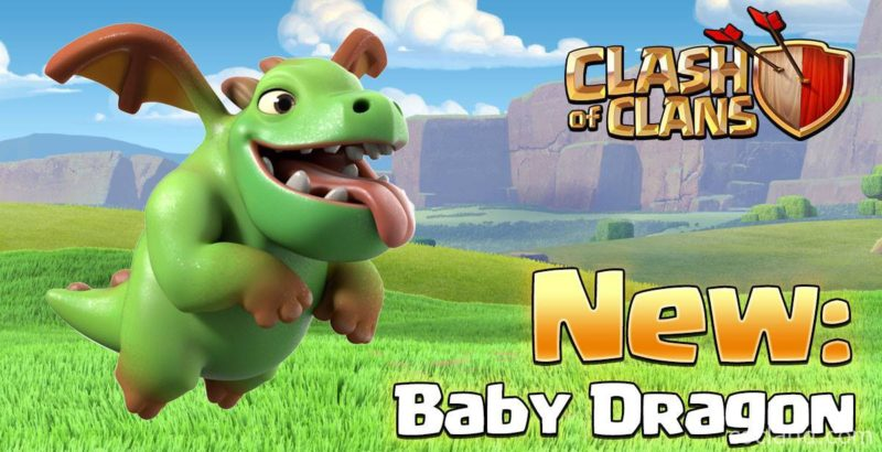 Clash of Clans Update Baby Dragon Miner Clone Skeleton Friendly Challenge