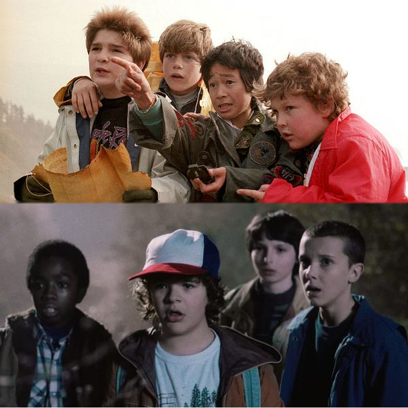 """Goonies"" and ""Stranger Things"""