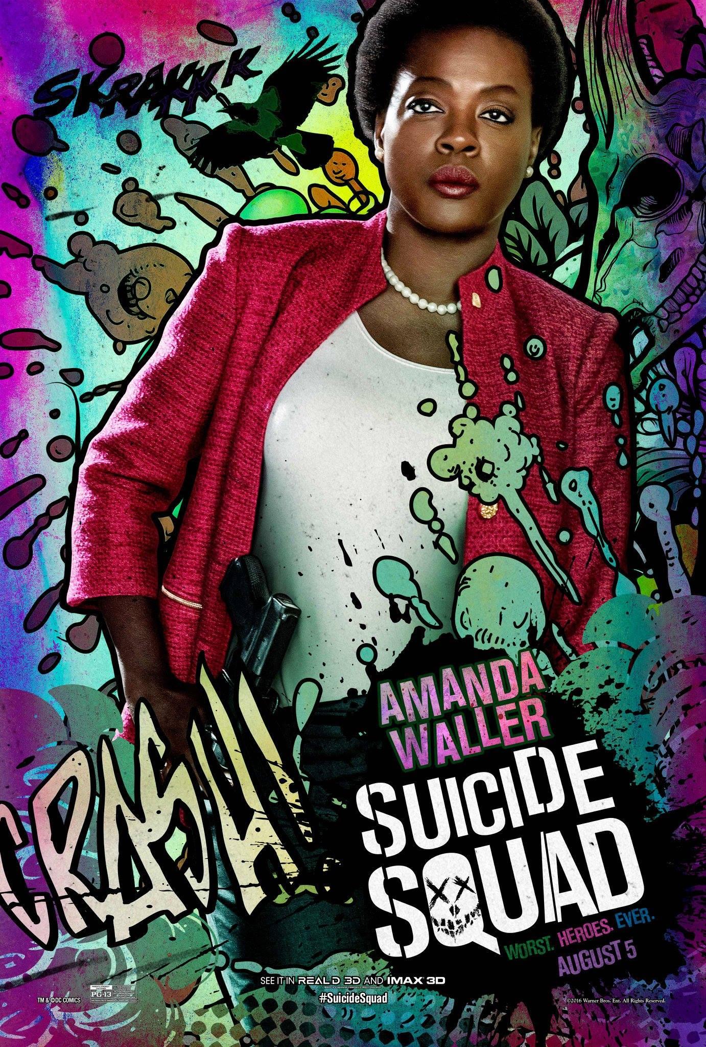 Suicide Squad Amanda Waller