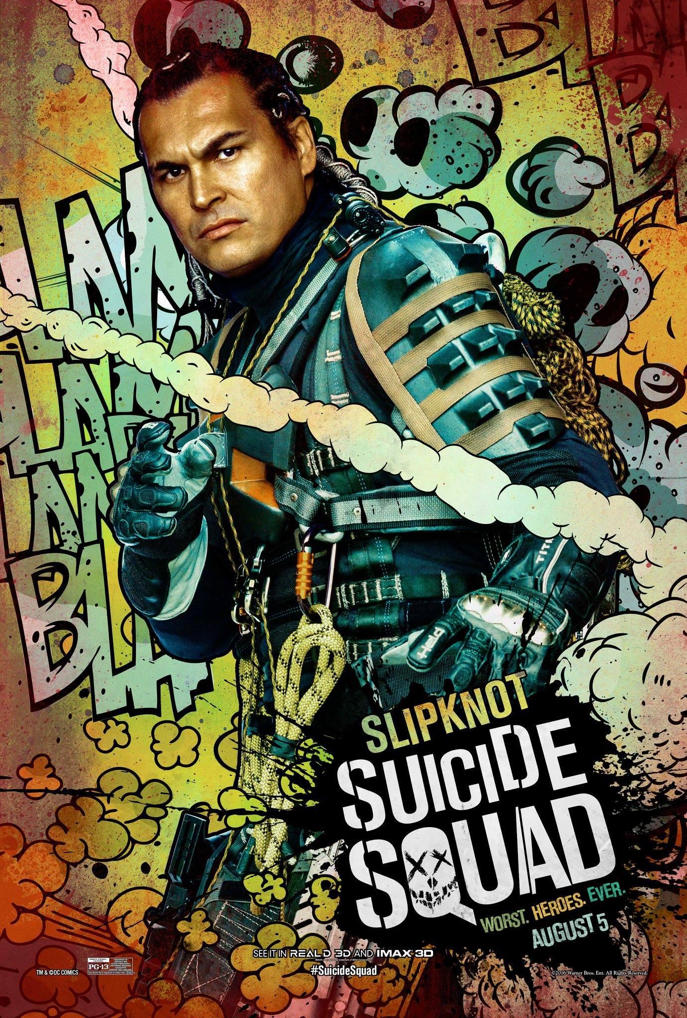 Suicide Squad Slipknot