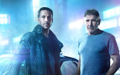 Harrison Ford And Ryan Gosling Hit Up The Neon Streets Of Future LA In New Blade Runner 2049 Photos