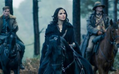 New Wonder Woman Movie Photo Rides to War