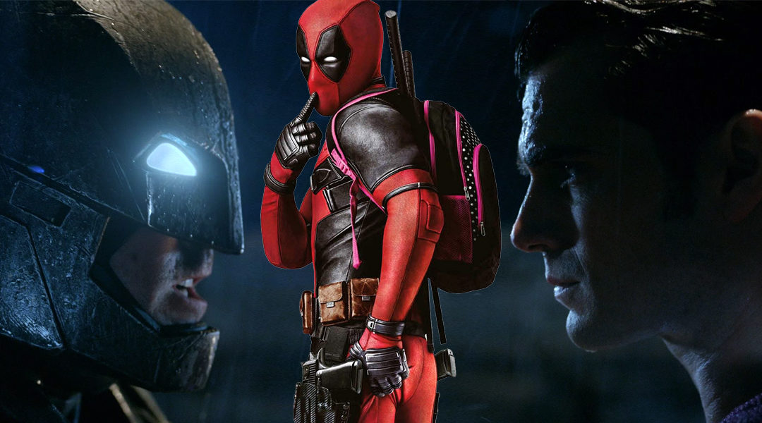 Deadpool & Batman V Superman Are 2016's Most Pirated Movies