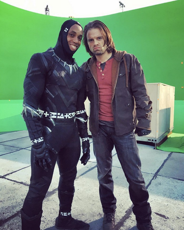 Captain America: Civil War Set Photo