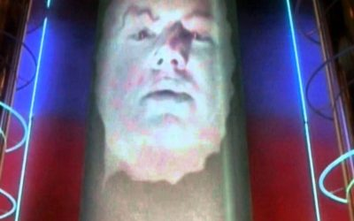 Possible First Look at Bryan Cranston as Zordon in POWER RANGERS