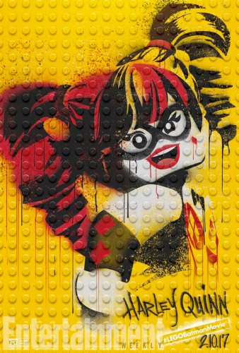 The LEGO Batman Movie - Harley Quinn Poster