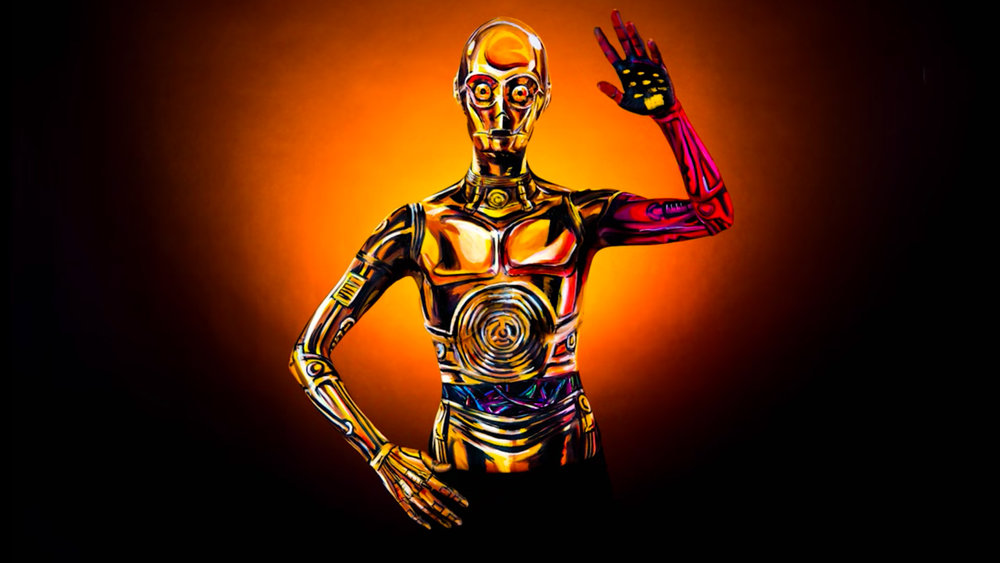 See Artist Kay Pike Paint Herself to Look Like a Shockingly Accurate C-3PO