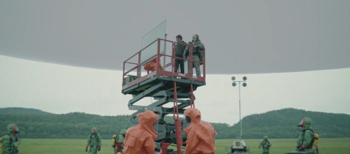 'Arrival' VFX Breakdown: See The Alien Landing Sites Before and After Seamless Visual Effects