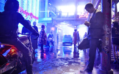 First Look at Duncan Jones' Sci-Fi Noir Film MUTE with Paul Rudd and Alexander Skarsgård