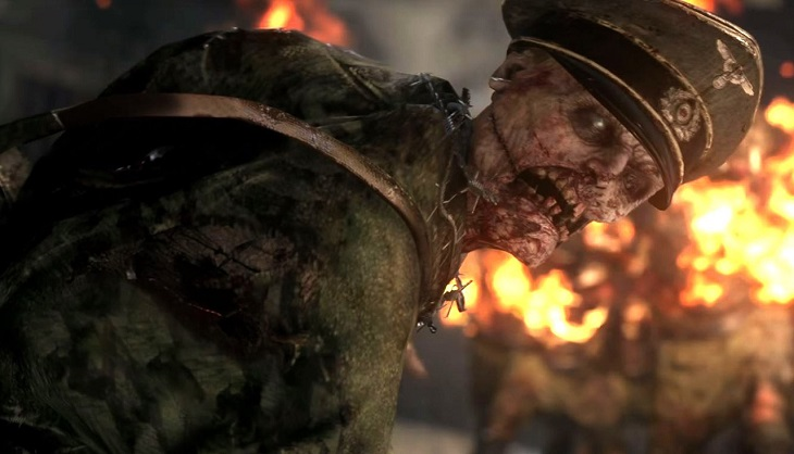 New Call of Duty: WWII zombie map DLC