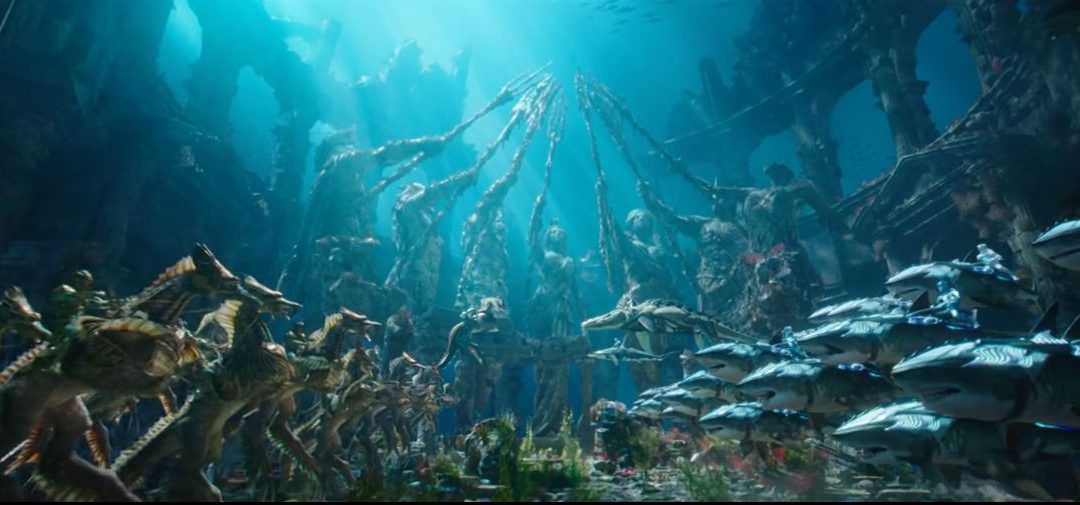 Why the Aquaman trailer suck and the movie will tank at the box office