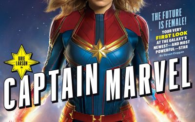 Captain Marvel Movie – First Look at Brie Larson as Carol Danvers, Nick Fury and Skrulls
