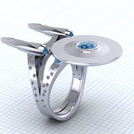The Ultimate Geek Wedding Ring For Trekkies